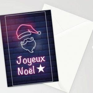 Carte Joyeux noël et enveloppe